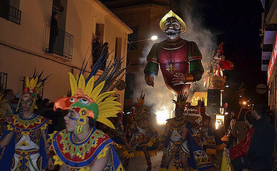Premios en el Desfile del Dia del Ofertorio del Carnaval 2017 de Herencia
