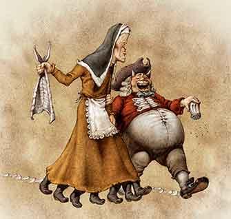 Don Carnal y Doña Cuaresma