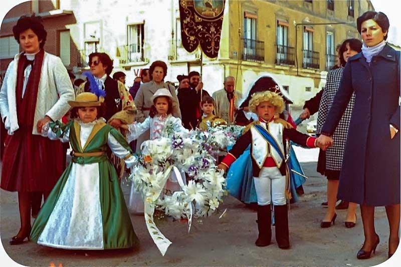 Jinetas en el carnaval de Herencia