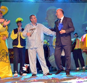 Pregón y ceremonia de Inauguración del Carnaval de Herencia 2014.
