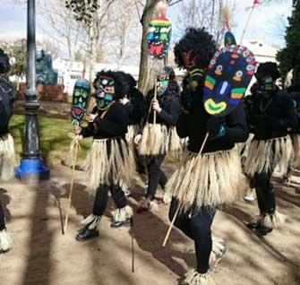 Primeros días del carnaval 2014