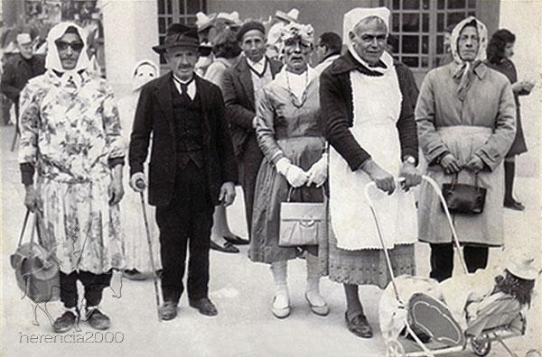 Jesusillo, Corrije, Calzones, Picha y Patarrilla - Carnaval Herencia años 50