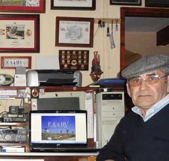 Ramón Mateos difunde el Carnaval de Herencia por todo el Mundo