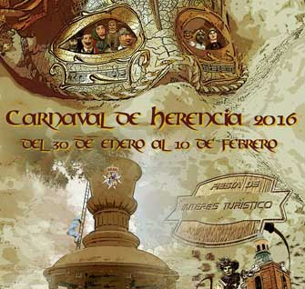 Cartel Carnaval de Herencia 2016