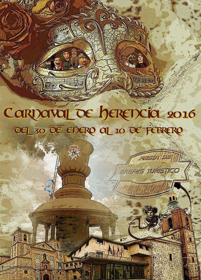 Cartel del carnaval de herencia 2016