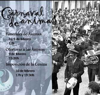 Carnaval de Ánimas en la parroquia de Herencia