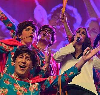 Explosión de alegría y buen humor en el arranque del Carnaval de Herencia