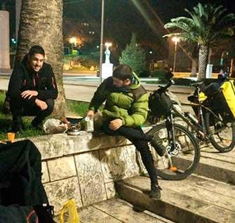 Perlé y su escudero llegan a Dubrovnik. Etapas 83 a 88