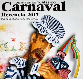 Programa de actos de Carnaval de Herencia 2017