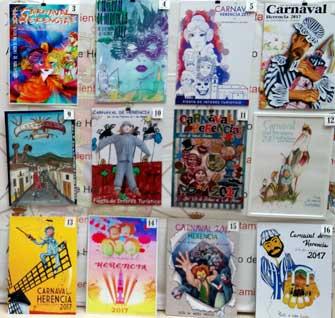 Carteles para el Carnaval de Herencia 2017