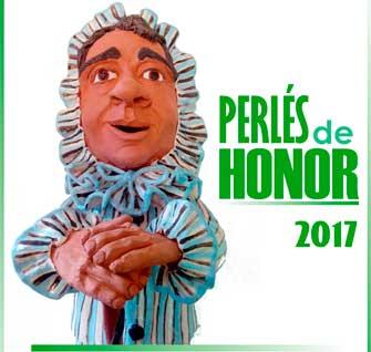 Candidatos a los Perlés de Honor del Carnaval de Herencia 2017