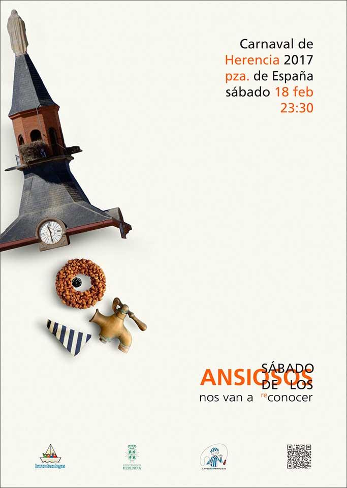 """Cartel  """"Sábado de los Ansiosos 2017"""""""