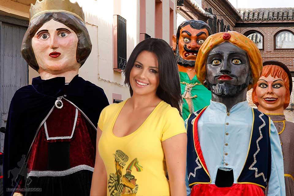 Nani Gaitán, en el  Carnaval de Herencia  2107