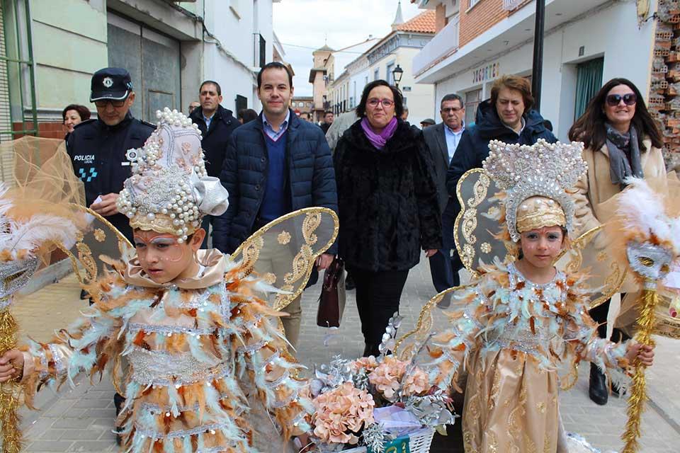informe favorable para la declaración de Interés Turístico Nacional del Carnaval de Herencia