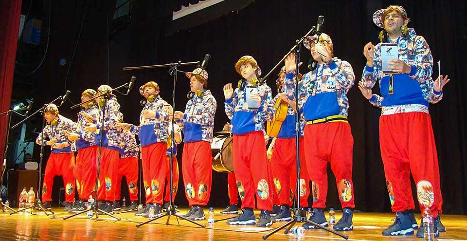 Los Pelendengues en el Carnaval de Quintanar de la Orden