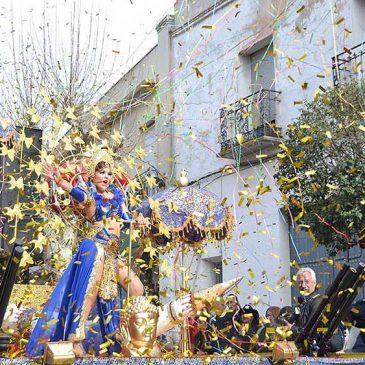 Más de 3.200 personas desfilaron en el Ofertorio del Carnaval de Herencia 2017