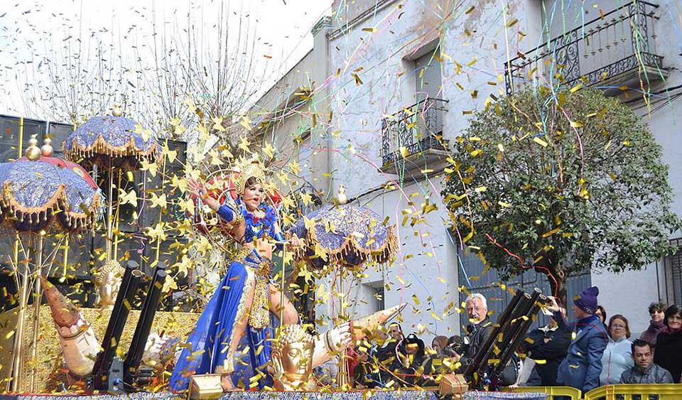 Desfile del Ofertorio del Carnaval de Herencia 2017