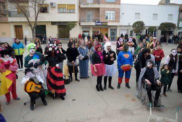 Máscaras callejeras en Argamasilla de Alba