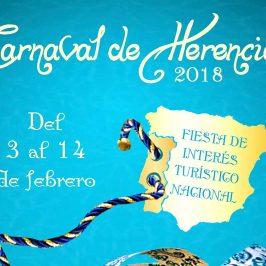 Cartel del Carnaval de Herencia 2018