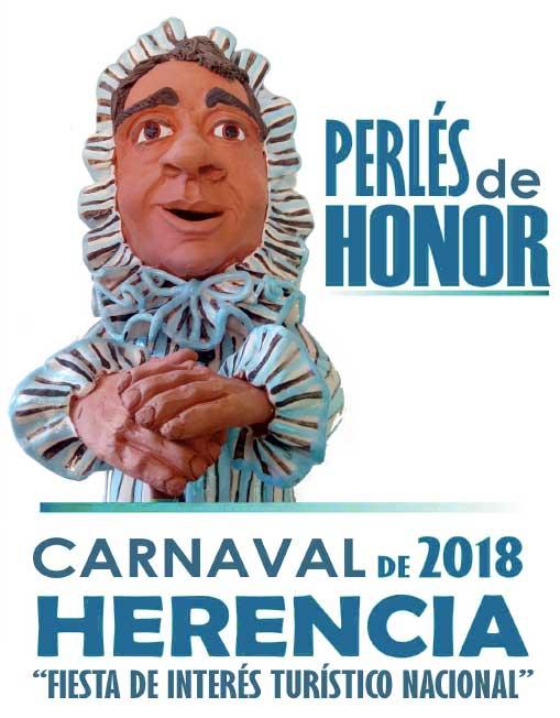 Perlés de Honordel carnaval de Herencia 2018