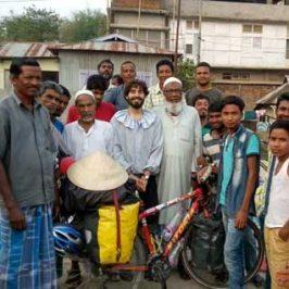 Perlé y sus peripecias hasta llegar a Bangla Desh. Etapas de 359 a 391